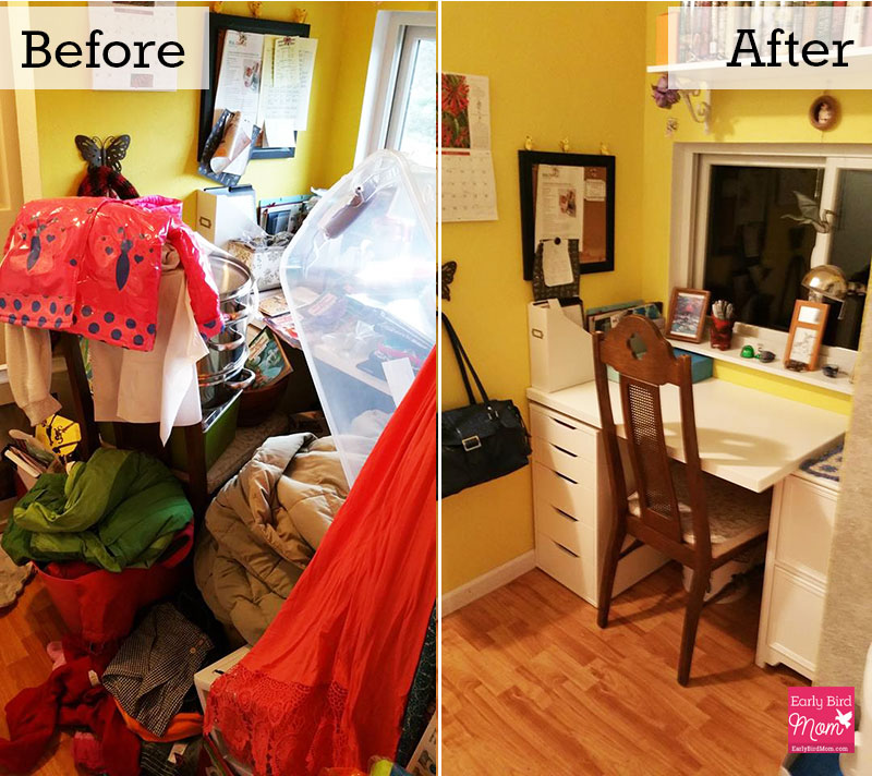 Step-by-Step Decluttering. Your guide to less stuff and an uncluttered home.