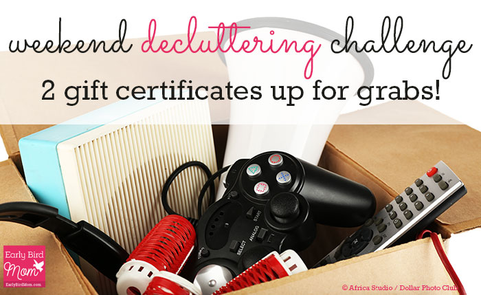 weekend-decluttering-challenge