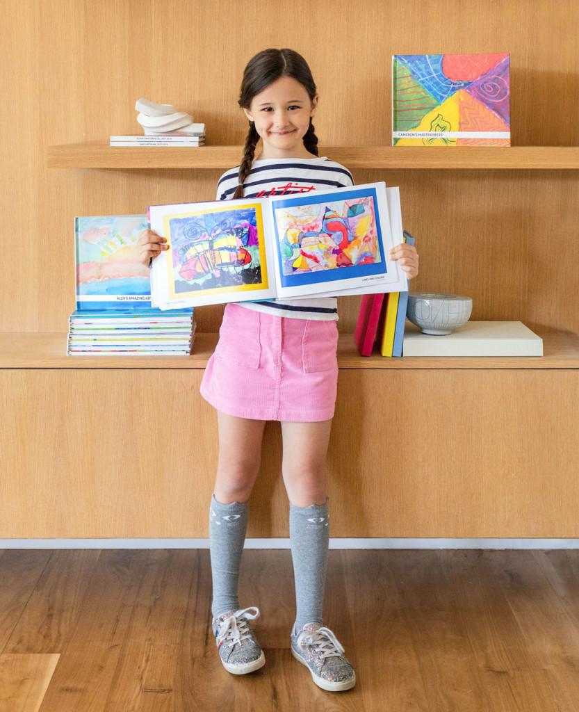 artkive creates photo books from kids' artwork