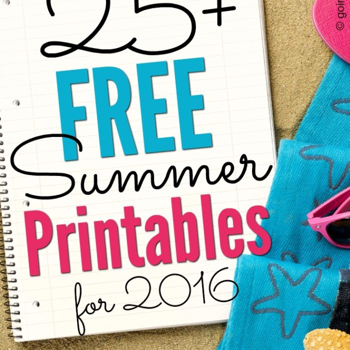 21+ Free Summer Printables and Checklists for Families
