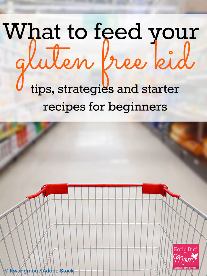 Feeding your gluten free kid can be overwhelming when you're first starting to go gluten free. Whether you're dealing with food allergies or celiac disease, this post gives tips and strategies, meal ideas for kids (breakfast, lunch and snacks) plus a short list of starter recipes.