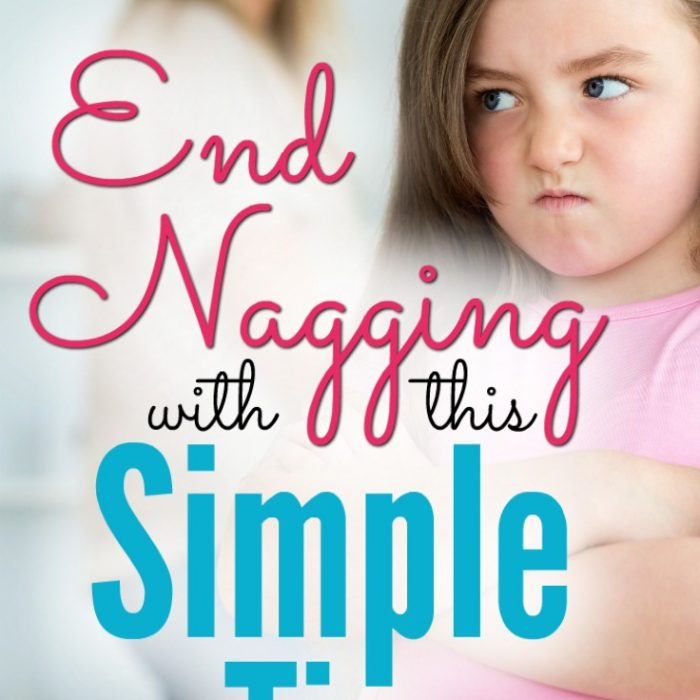 End nagging with this simple tip