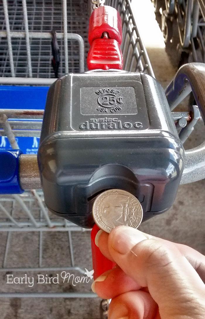 Bring a quarter to ALDI!