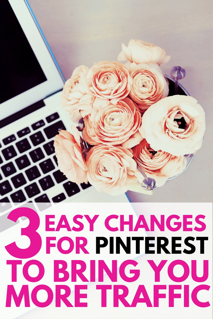 I've been reviewing other bloggers' Pinterest accounts and I was surprised to find a few things that many newer bloggers are doing incorrectly. I made a 4 minute video with 3 tips that will show you how to get more traffic to your blog from Pinterest.