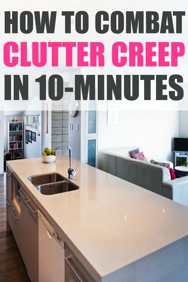EBM clutter creep pin