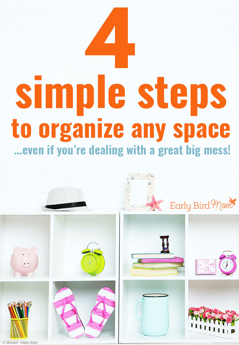 Organizing A Messy House Can Be Overwhelming Follow These Simple Steps To Get It Done