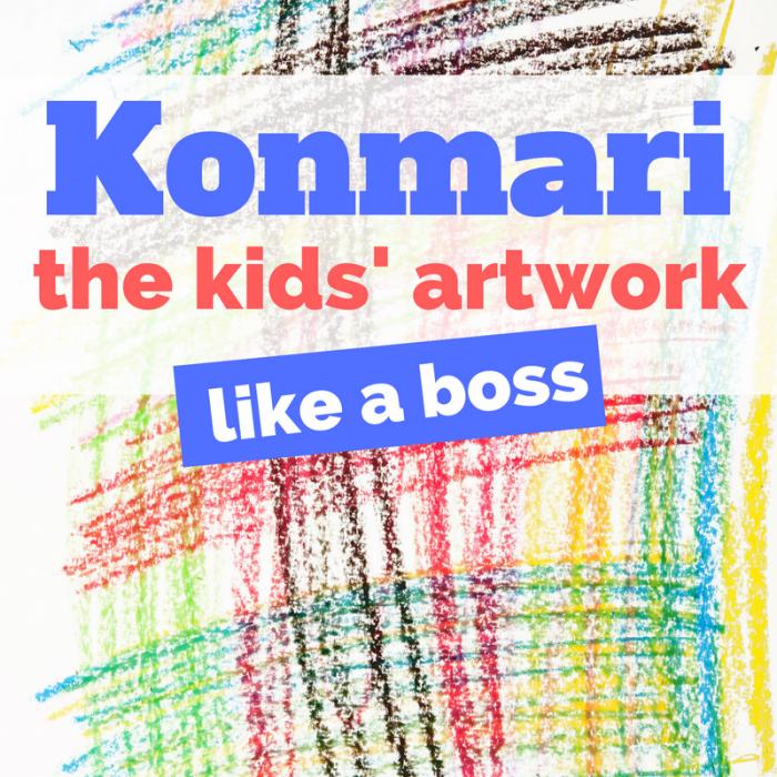 KonMari your kids' artwork like a boss