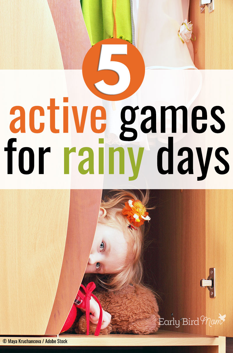 Keep your kids active and busy even on rainy days with the Wobbly Worm game.