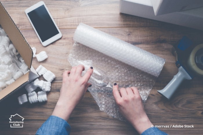 avoid this by decluttering before you move