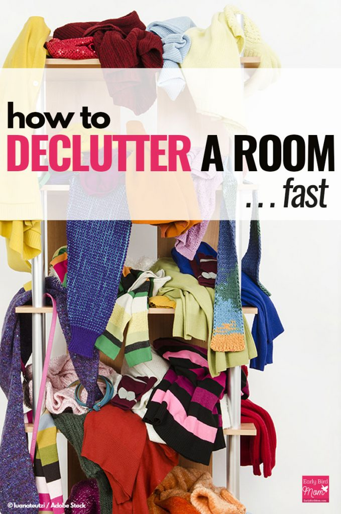 how to declutter a room in a hurry free printable checklist. Black Bedroom Furniture Sets. Home Design Ideas