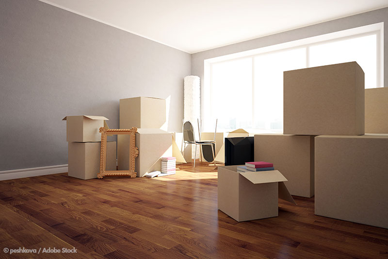 Moving house is a lot of work! Declutter before you move to save time and energy (and money!) on packing and unpacking.