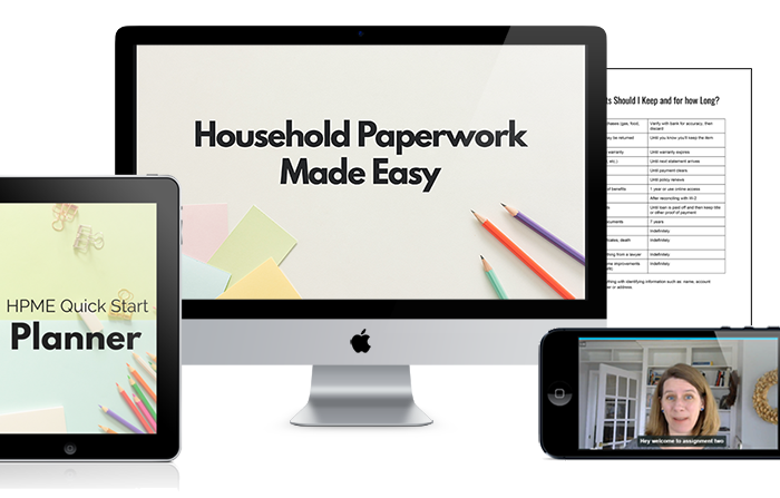 Announcing Household Paperwork Made Easy!