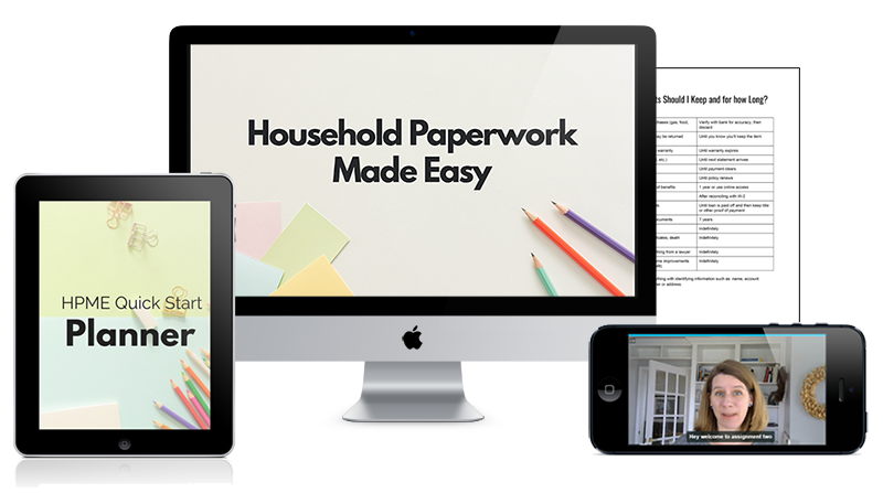 Household Paperwork Made Easy!