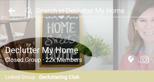 Decluttering Support Group