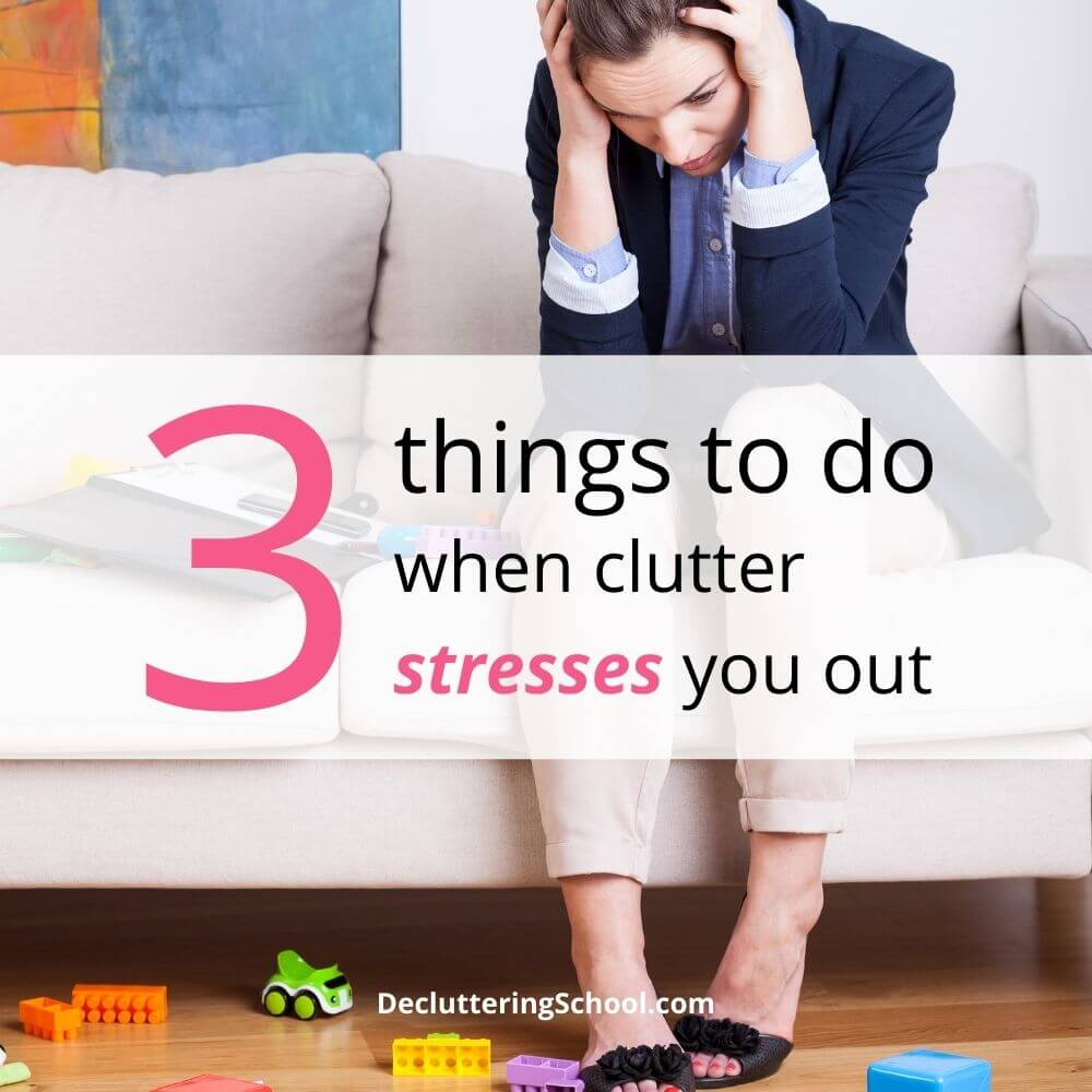 when clutter stresses you out cover
