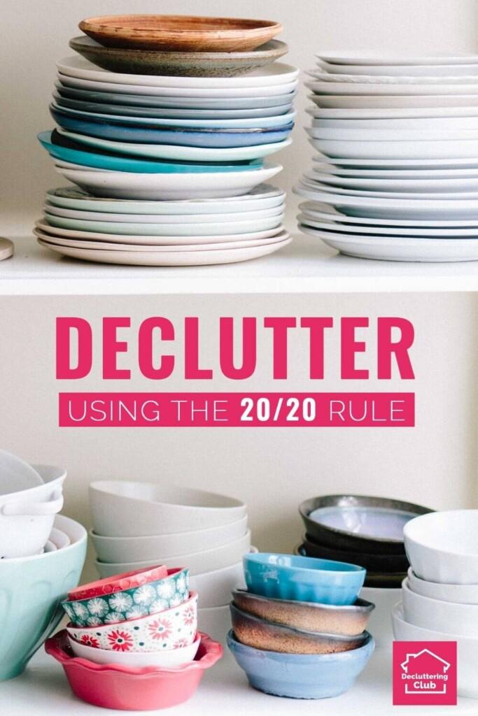 20-20 decluttering rule