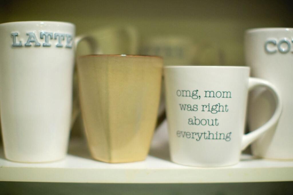 declutter coffee mugs 20-20 rule