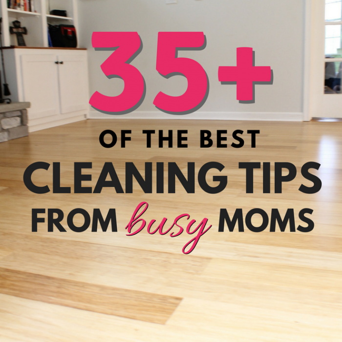 I asked, you answered! Your best cleaning tips…