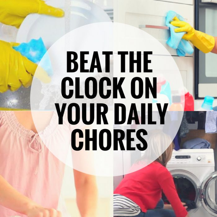 If your family complains about doing chores, show them this