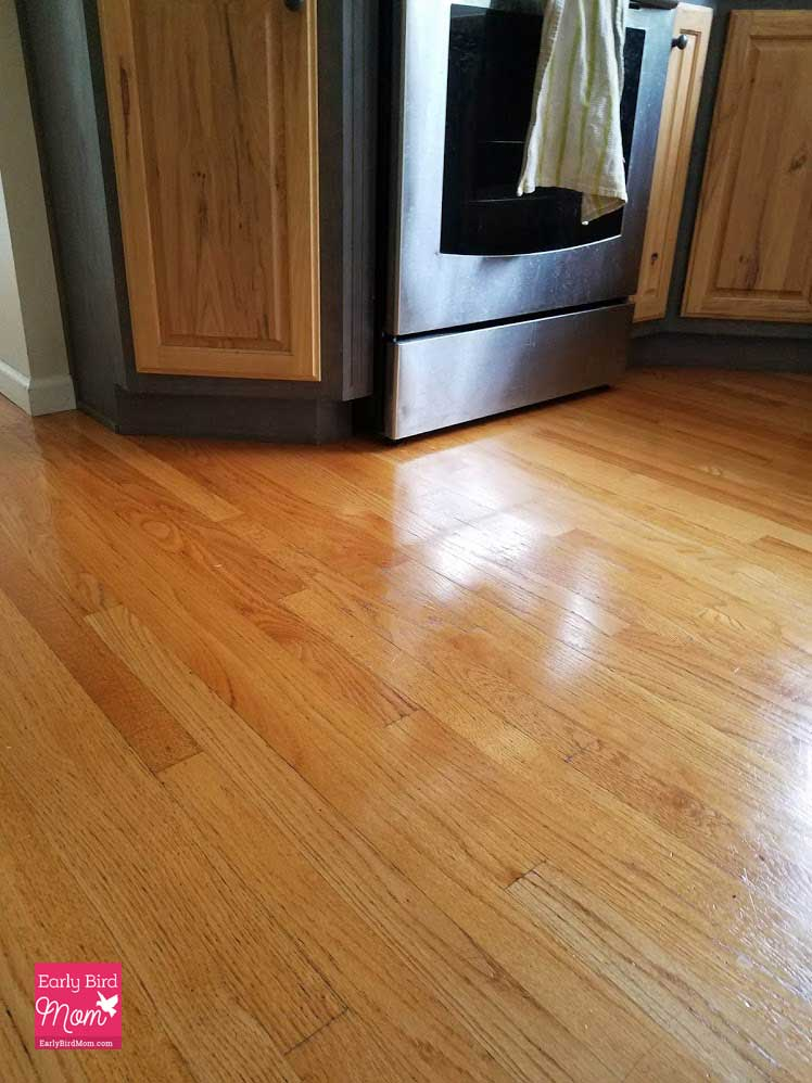 The easy way to make your wood floors shine again without sanding.