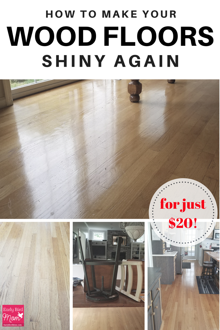 How To Make Your Wood Floors Shiny Again For Just 20 Early