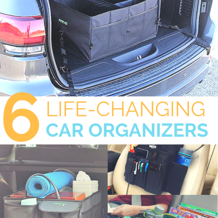 Clever solutions to keep a messy car clean and organized