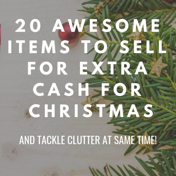 20 awesome items to sell for extra cash for Christmas