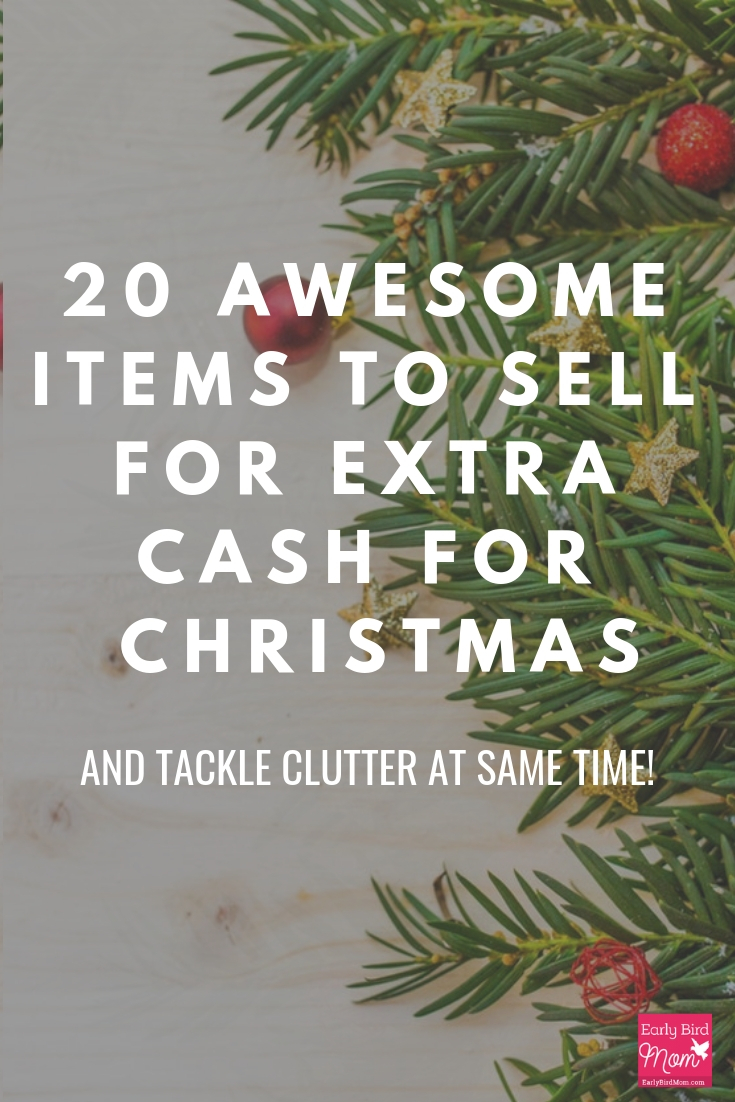 need extra cash for christmas here are 20 household items you can sell for quick
