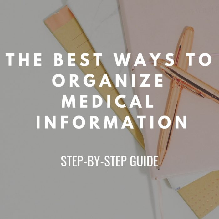 Organize Medical Information