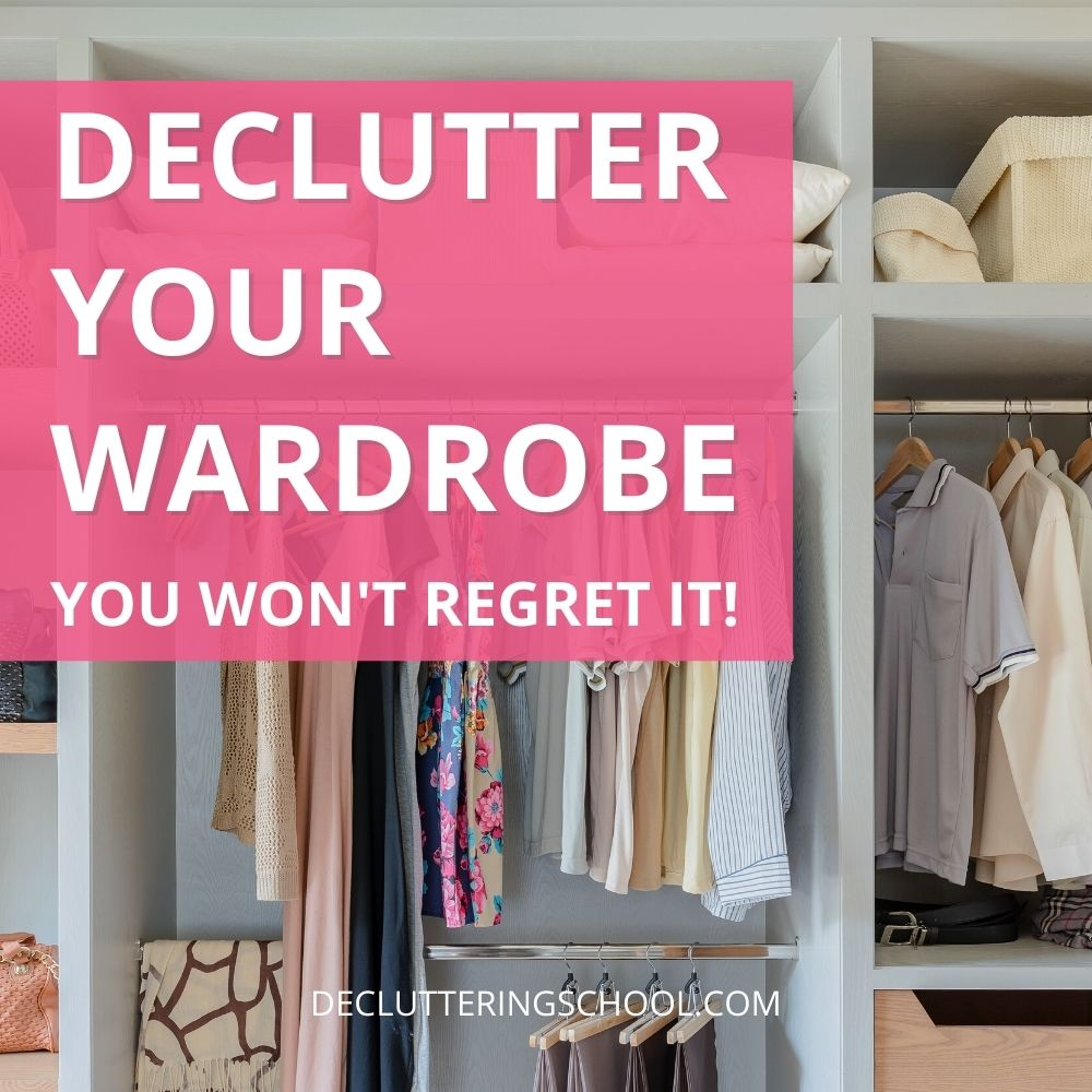 declutter your wardrobe cover