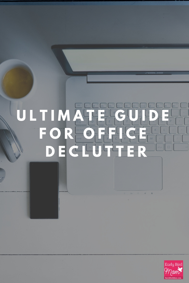 office declutter for your home or office