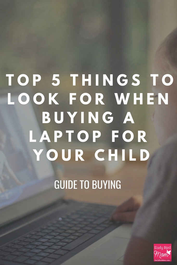 things to look for when buying a laptop