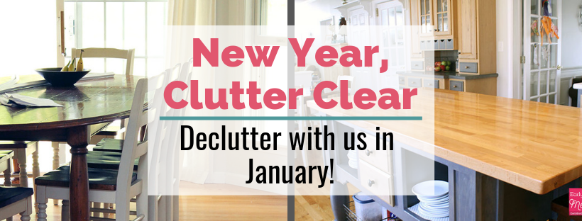 New Year Clutter Clear!