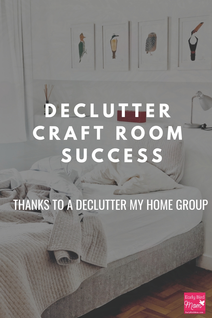 declutter craft room