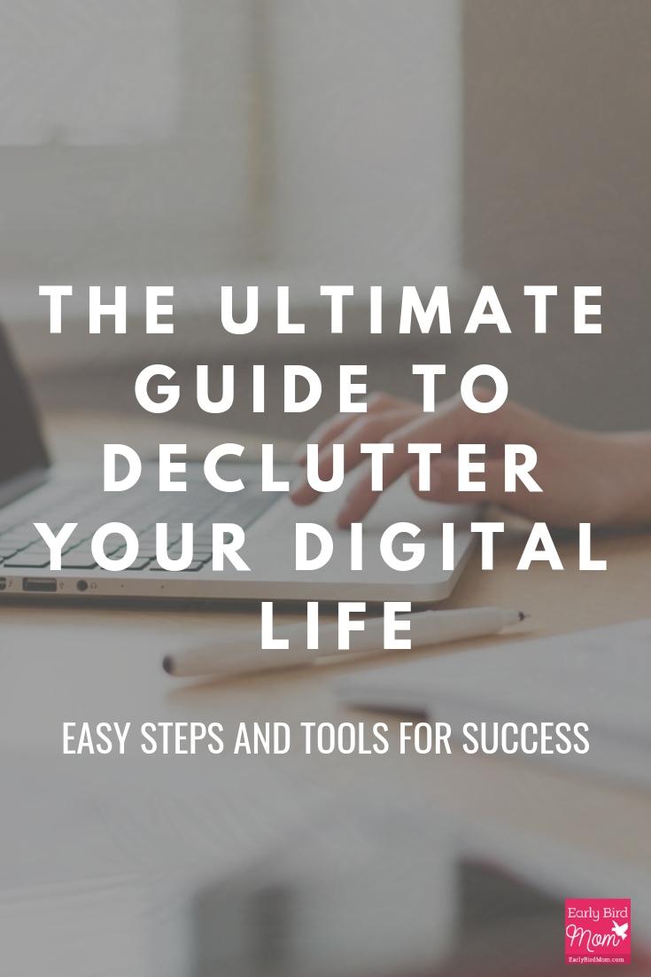 declutter your digital life
