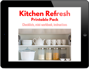 Kitchen Refresh Printable Pack