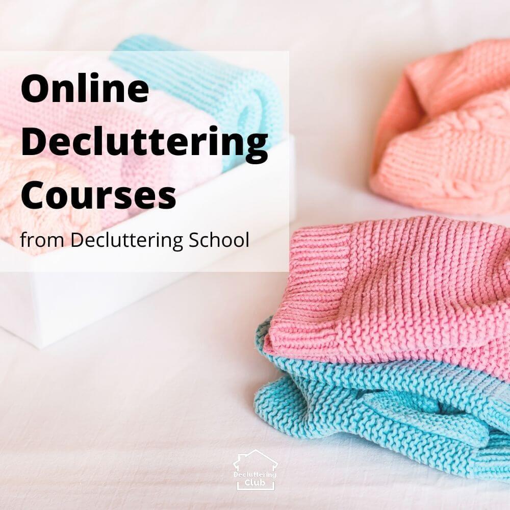 online decluttering courses cover