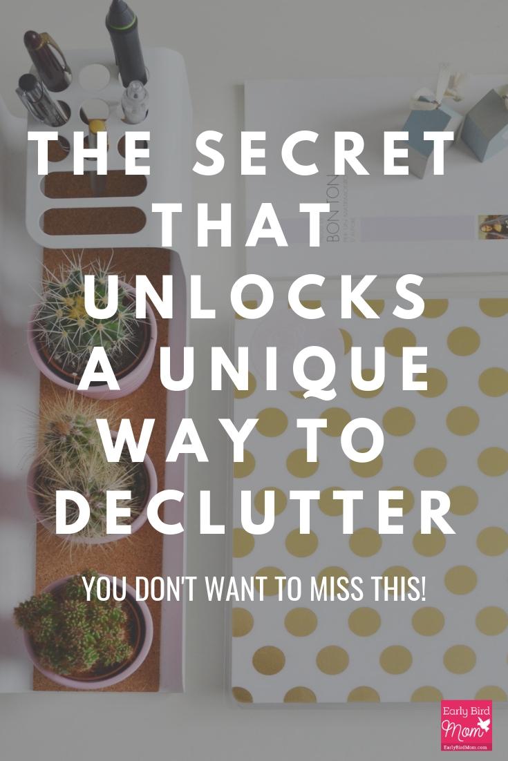 ways to declutter home