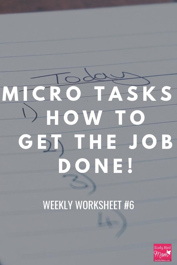 micro tasks