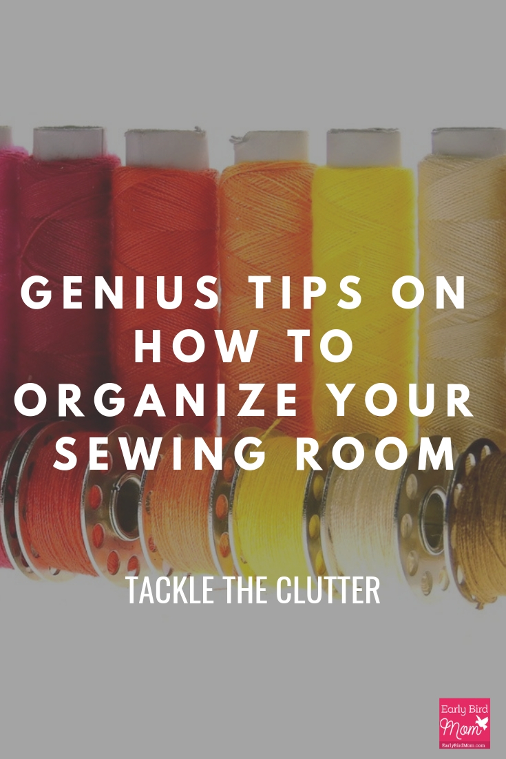 organize your sewing room