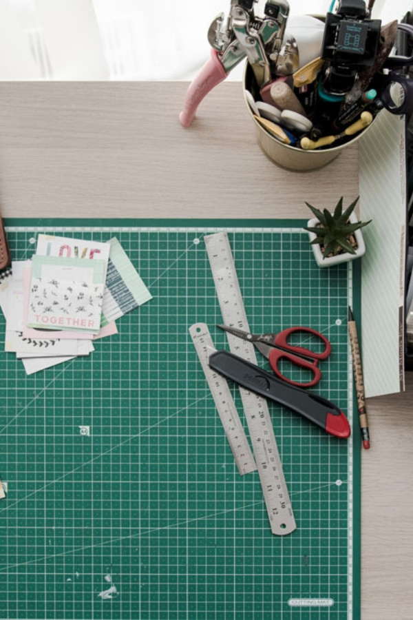 sewing area organization ideas
