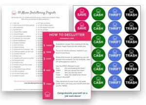 Decluttering Starter Kit