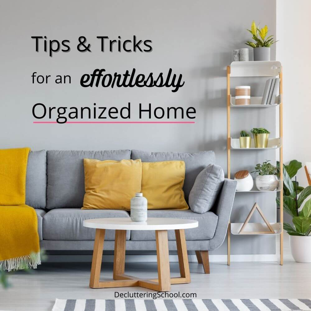 effortless home organization cover