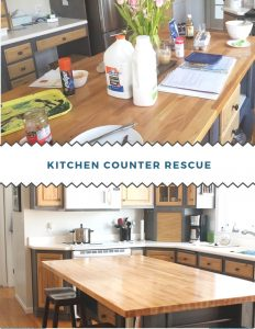 Kitchen Counter Rescue