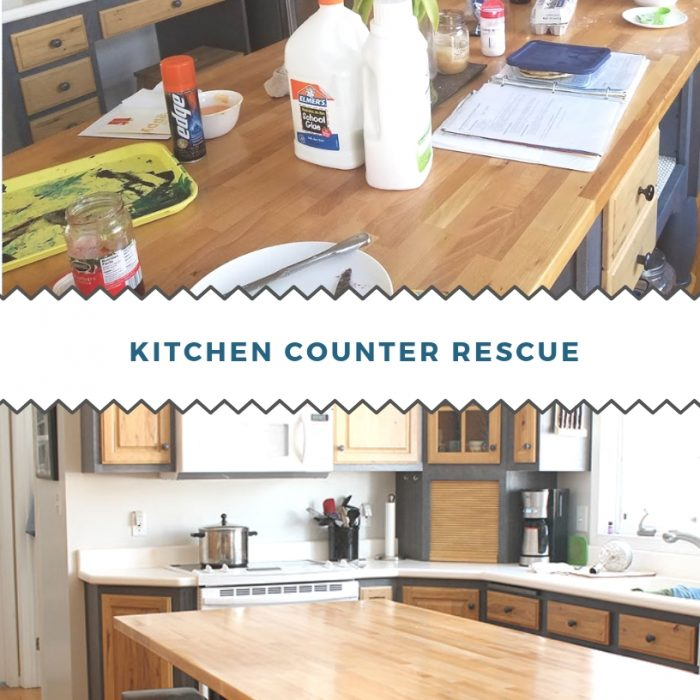 Kitchen Counter Rescue