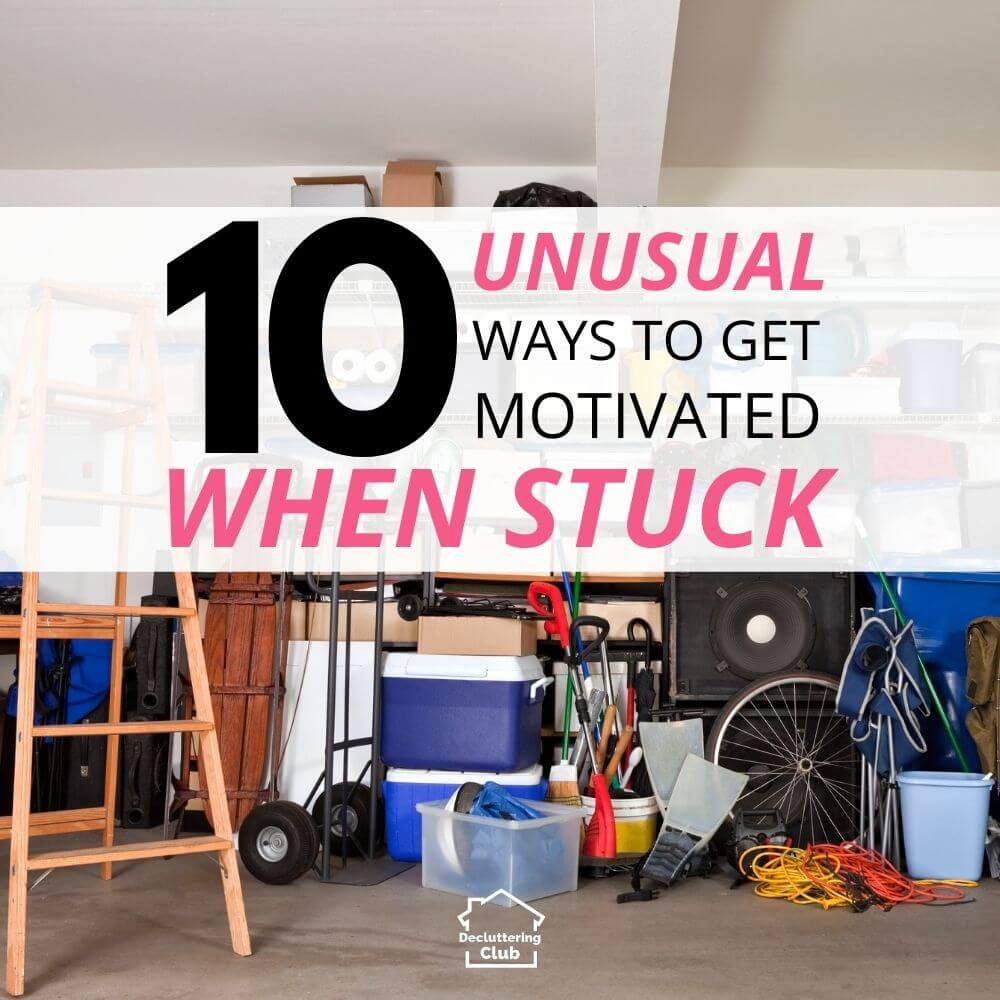 how to get motivated and unstuck