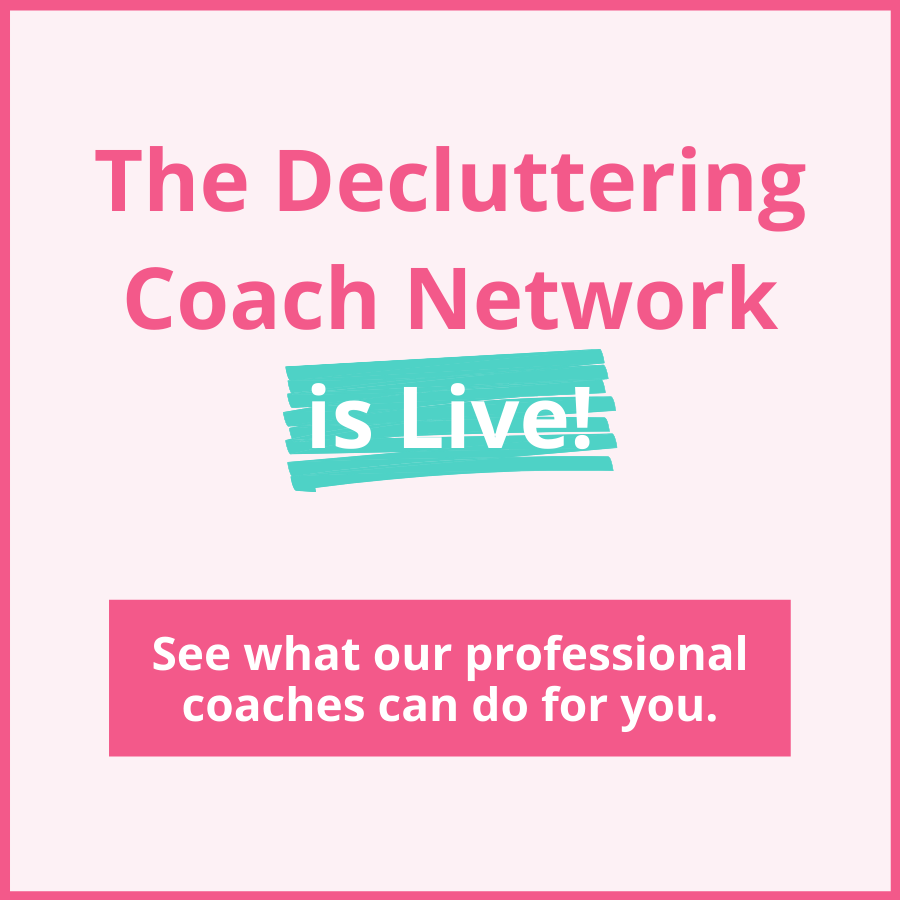 decluttering coach network live cover