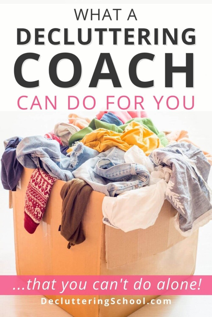 how a decluttering coach helps