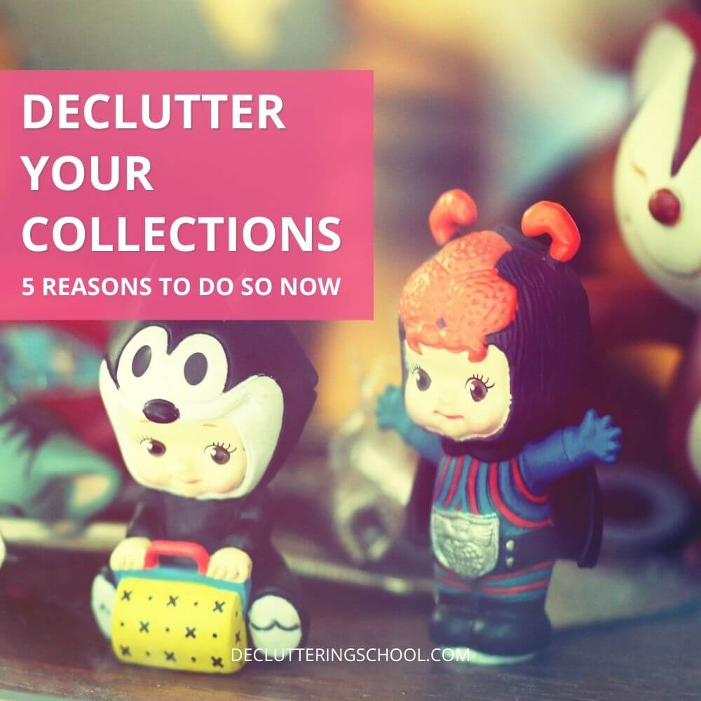 how to declutter collections cover
