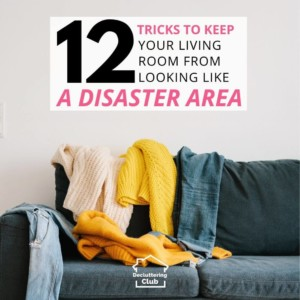 tips to keep living room tidy square
